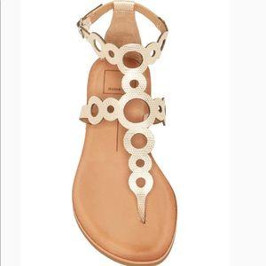 NWOT Dolce Vita jolee cutout t-strap sandal